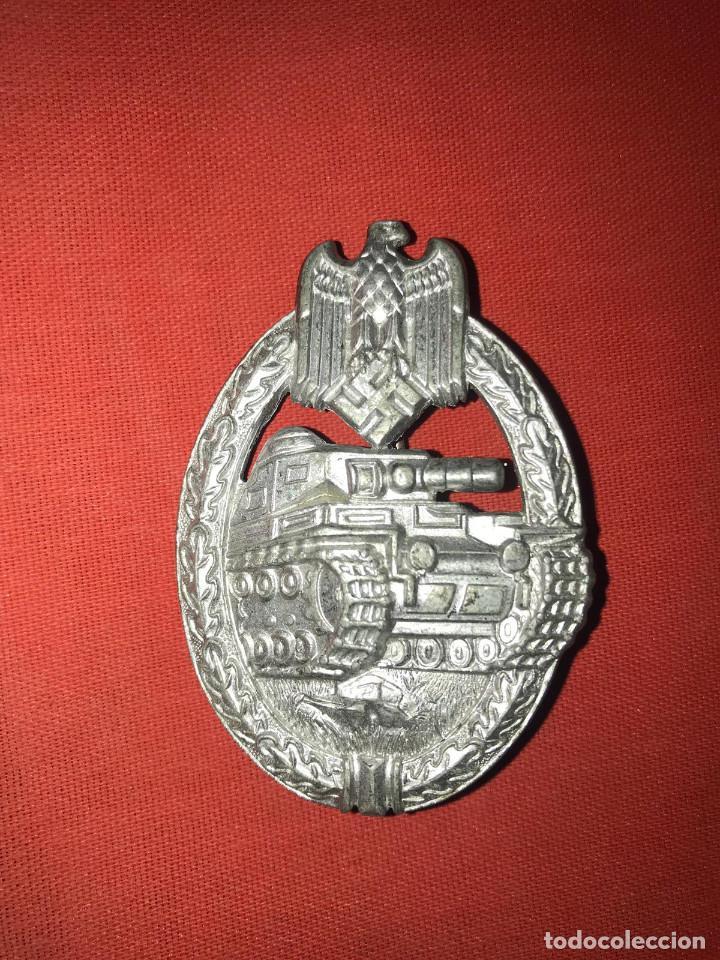 DISTINTIVO PLACA DE ASALTO CON TANQUES - PANZERKAMPFABZEICHE (Militar - Reproducciones y Réplicas de Medallas )