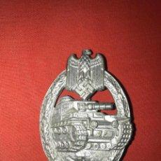Militaria: DISTINTIVO PLACA DE ASALTO CON TANQUES - PANZERKAMPFABZEICHE. Lote 163454682
