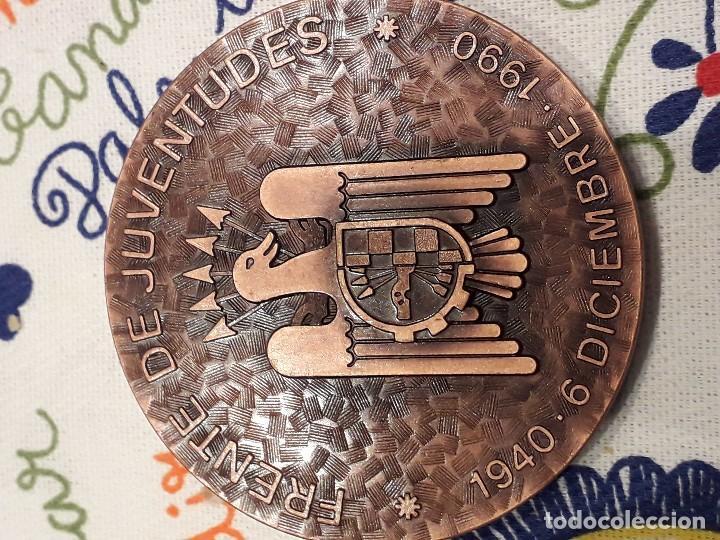 MEDALLON FALANGE FRENTE JUVENTUDES NUMERADA ED LIMITADA (Militar - Medallas Españolas Originales )
