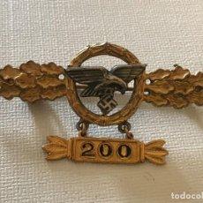 Militaria: INSIGNIA FRONTFLUGSPANGE FÜR TRANSPORT- UND LUFTLANDEFLIEGER GOLD TERCER REICH NAZI HITLER NSDAP. Lote 163485318