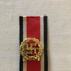 Militaria: HOJA DE HONOR DEL EJÉRCITO CON CINTA EHRENBLATTSPANGE DES HEERES, TERCER REICH HITLER NAZI. Lote 163495046