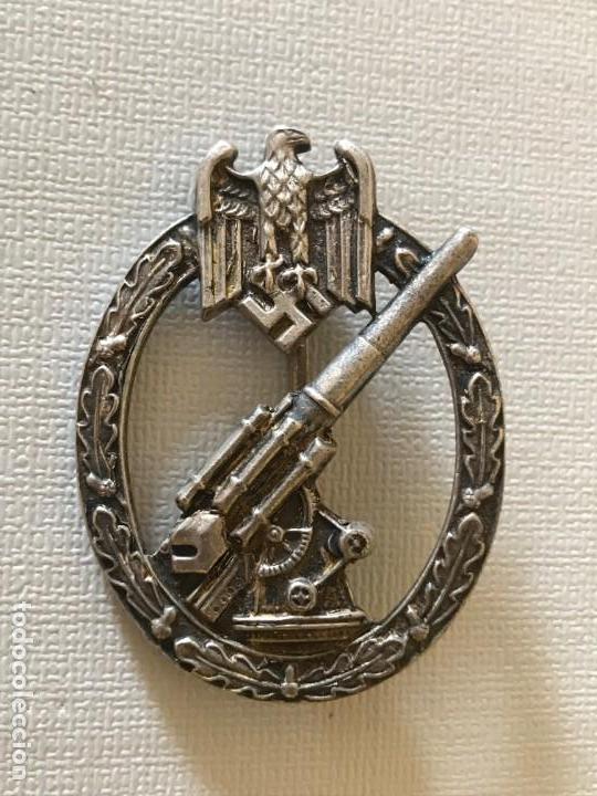 INSIGNIA ANTIAEREA DEL EJERCITO FLAKKAMPFABZEICHEN DES HEERES TERCER REICH HITLER NAZI (Militar - Reproducciones y Réplicas de Medallas )