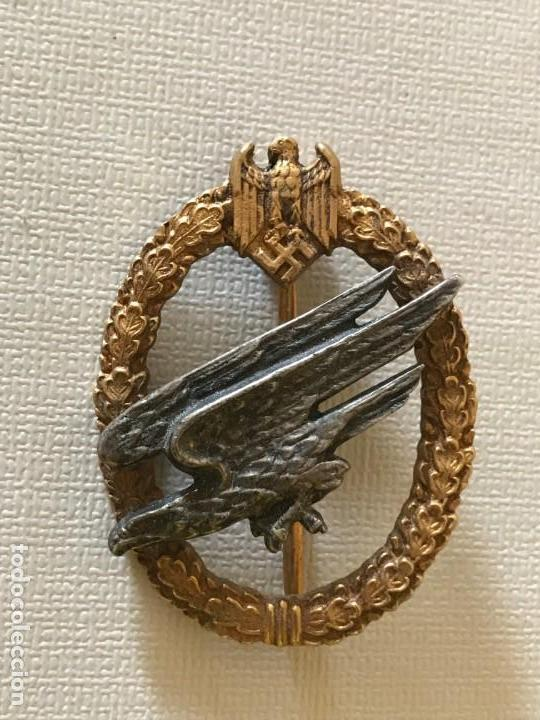 INSIGNIA FALLSCHIRMSCHÜTZENABZEICHEN DES HEERES, TERCER REICH, ADOLF HITLER, FUHRER, NSDAP,NAZI (Militar - Reproducciones y Réplicas de Medallas )