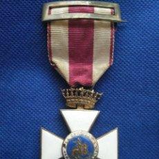 Militaria: CRUZ DE SAN HERMENEGILDO. VARIANTE DEL PRIMER MODELO ÉPOCA DE FRANCO. AÑO 1938.. Lote 163556130
