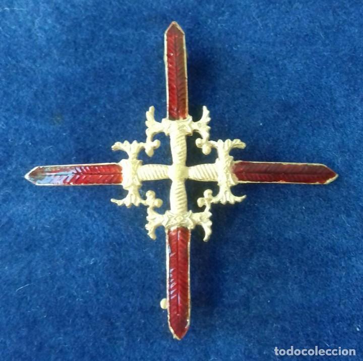 CRUZ DE DIARIO DE LA REAL Y MILITAR ORDEN DE SAN FERNANDO - EPOCA ISABEL II (Militar - Medallas Españolas Originales )