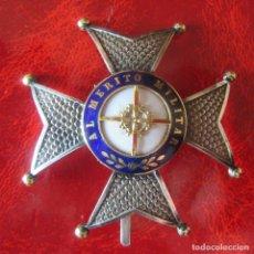 Militaria: PLACA O MEDALLA 1ª CLASE ORDEN SAN FERNANDO GUERRA. Lote 164239166