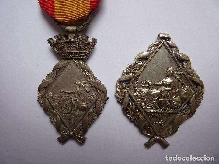 Militaria: España 1873 - Medalla Campaña de la Guerra de Cuba - Tamaño mediano (princesa) - Foto 4 - 164275382