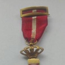 Militaria: MEDALLA MÉRITO MILITAR DISTINTIVO ROJO. ÉPOCA ALFONSO XII. Lote 164547998
