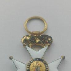 Militaria: MEDALLA DE LA ORDEN DE SAN FERNANDO. ÉPOCA ISABEL II. Lote 164551330