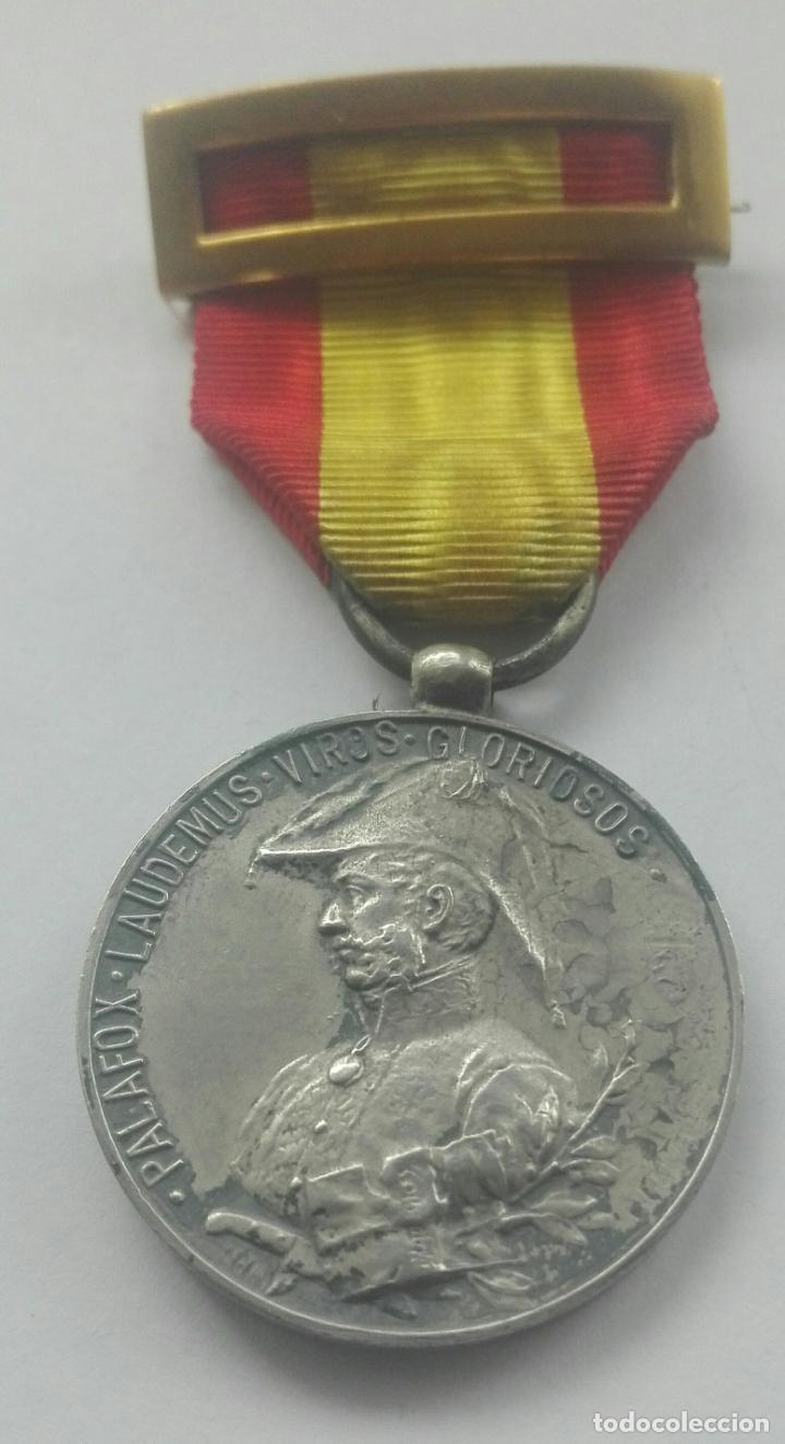 MEDALLA DE LOS SITIOS DE ZARAGOZA. ÉPOCA ALFONSO XIII (Militar - Medallas Españolas Originales )