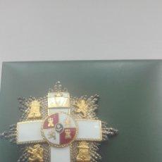 Militaria: PLACA MÉRITO MILITAR CON MINIATURA Y CAJA. . Lote 164636206