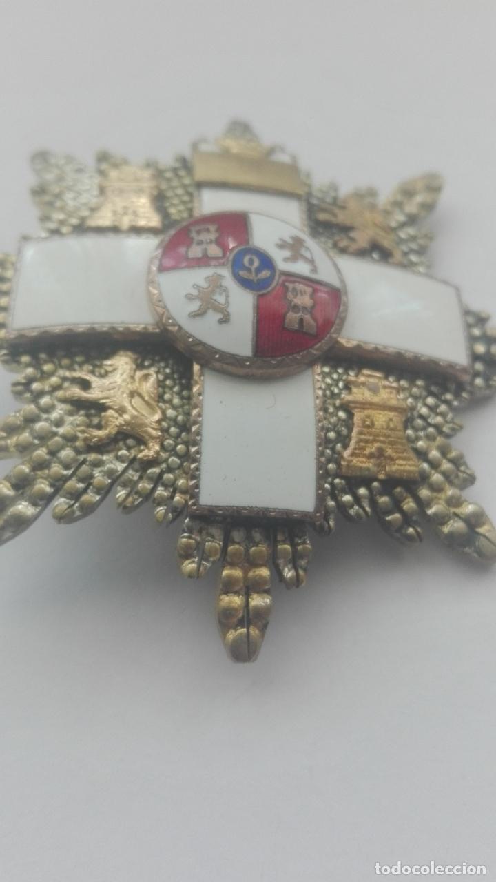 Militaria: Placa Gran Cruz Mérito Militar. Época Franco - Foto 2 - 164637154