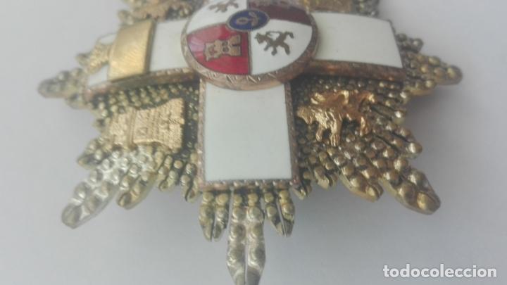Militaria: Placa Gran Cruz Mérito Militar. Época Franco - Foto 3 - 164637154