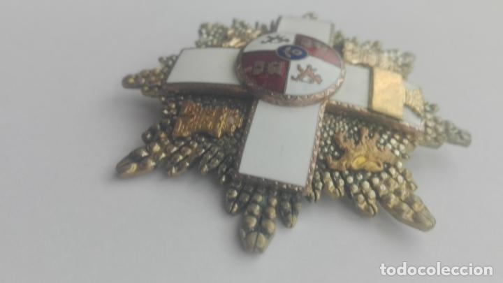 Militaria: Placa Gran Cruz Mérito Militar. Época Franco - Foto 4 - 164637154