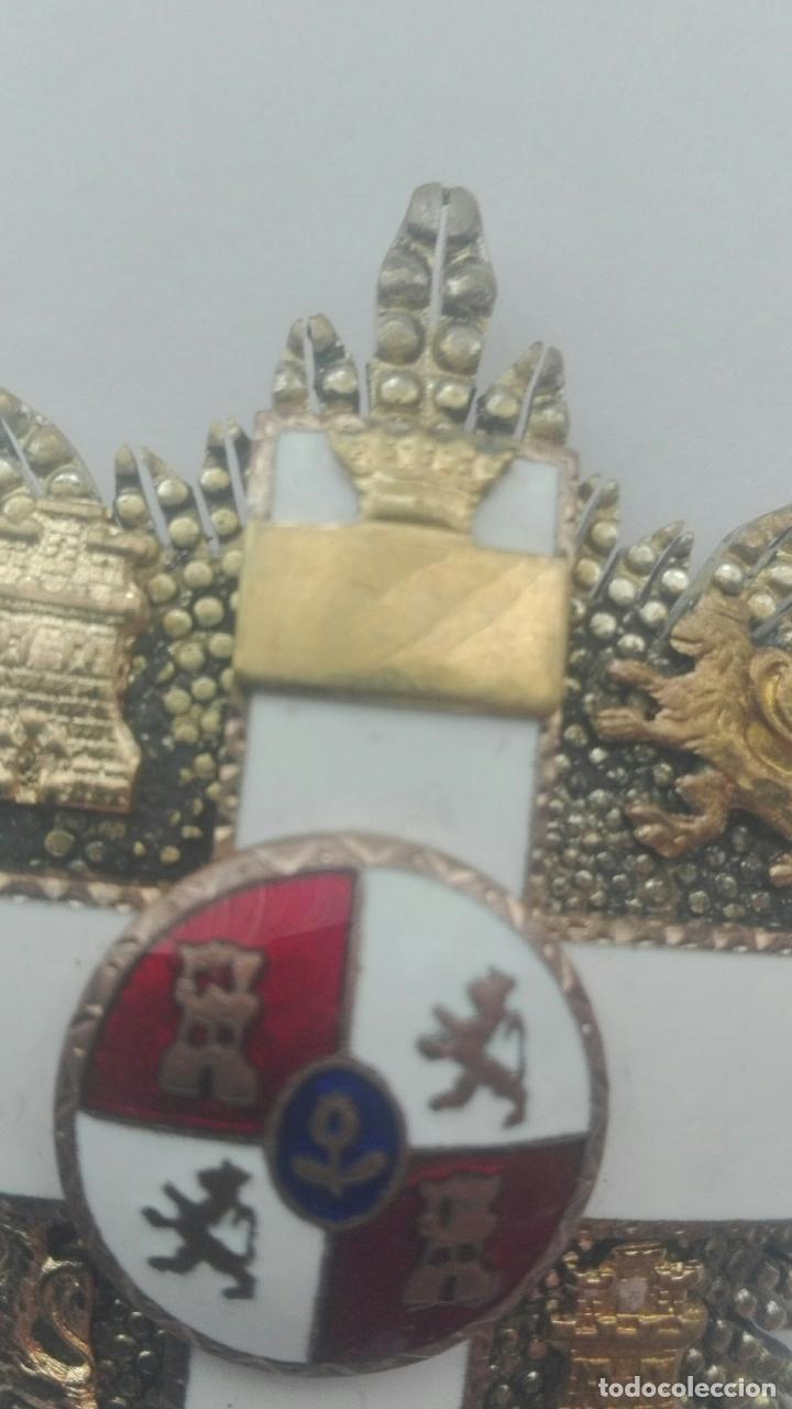 Militaria: Placa Gran Cruz Mérito Militar. Época Franco - Foto 5 - 164637154