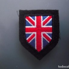 Militaria: ESCUDO DE BRAZO BRITÁNICO WAFFEN SS. Lote 164733350