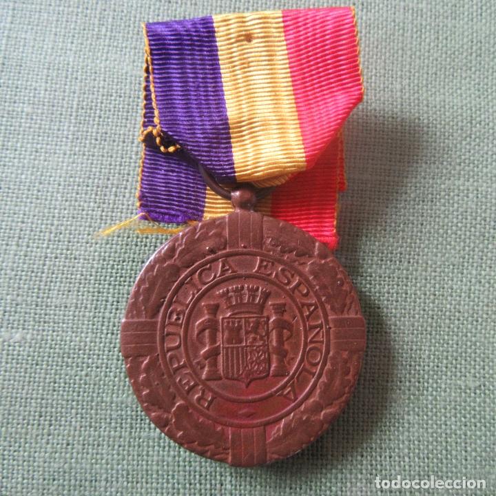 MEDALLA REPUBLICA ESPAÑOLA GUERRA CIVIL, EXILIO (Militar - Medallas Españolas Originales )