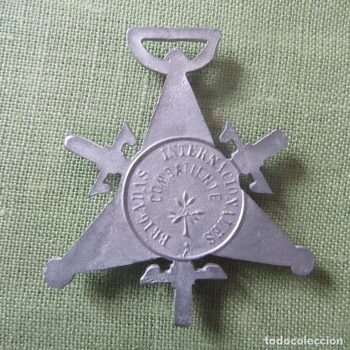 Militaria: medalla guerra civil republica brigadas internacionales - Foto 2 - 164816286