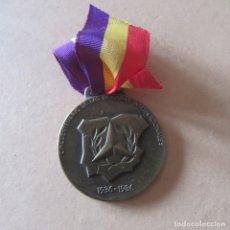 Militaria: MEDALLA REPUBLICA BRIGADAS INTERNACIONALES 1986, PASIONARIA, GUERRA CIVIL. Lote 165088626