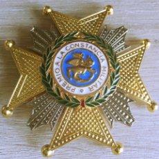 Militaria: PLACA DE LA REAL Y MILITAR ORDEN DE SAN HERMENEGILDO ACTUAL. Lote 165090122
