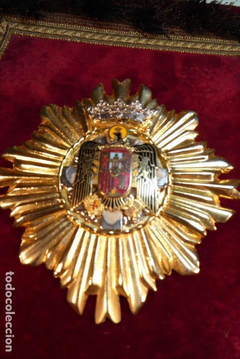 GRAN PLACA DE POLICÍA MUNICIPAL O AGENTE DE CIRCULACIÓN. ÁGUILA IMPERIAL. ÉPOCA DE FRANCO. (Militar - Medallas Españolas Originales )