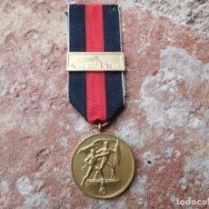 Militaria: MEDALLA ALEMANA CAMPAÑA ANEXIÓN DE LOS SUDETES CON PASADOR DE PRAGA. Lote 165737742