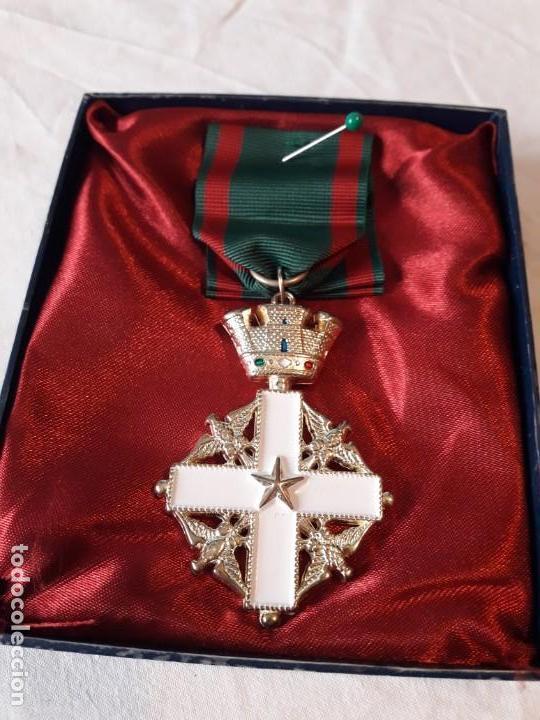 Militaria: Medalla de la orden del Merito de la República de Italia - Foto 5 - 165762818