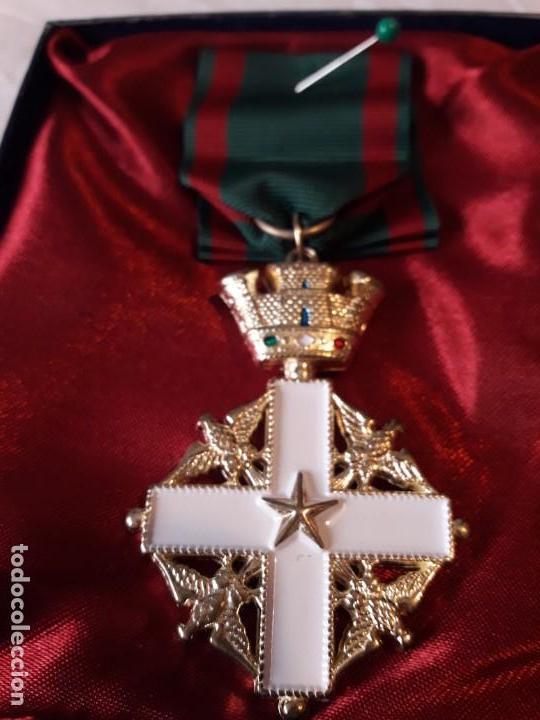 Militaria: Medalla de la orden del Merito de la República de Italia - Foto 2 - 165762818