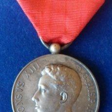 Militaria: MEDALLA MAYORIA EDAD ALFONSO XIII 1902 - PLATA. Lote 165890818