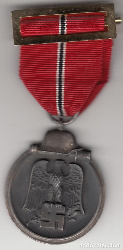 MEDALLA: III REICH ALEMANIA - CAMPAÑA DEL ESTE 1941/42 - WINTERSCHLACHT IMOSTEN (Militar - Medallas Extranjeras Originales)