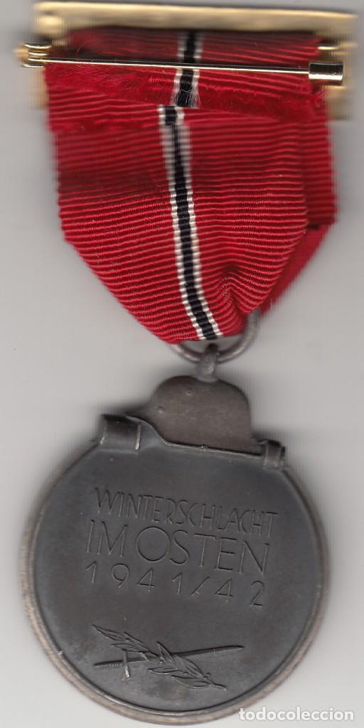 Militaria: MEDALLA: III REICH ALEMANIA - CAMPAÑA DEL ESTE 1941/42 - WINTERSCHLACHT IMOSTEN - Foto 2 - 166015302