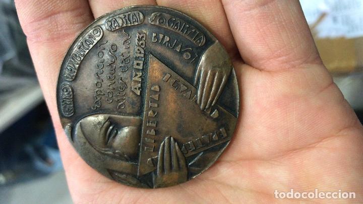Militaria: Medalla Centro republicano radical socialista 1933 - 2ª republica - anterior guerra civil Burjasot - Foto 4 - 166289742