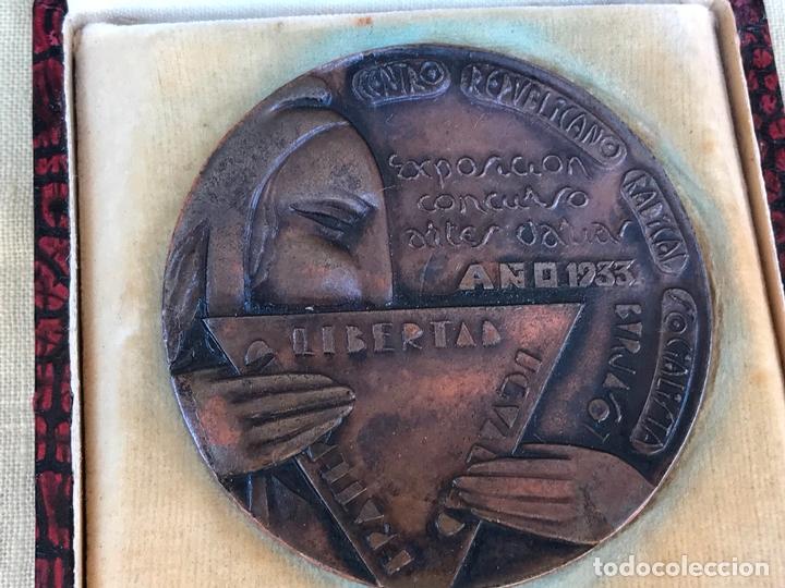 MEDALLA CENTRO REPUBLICANO RADICAL SOCIALISTA 1933 - 2ª REPUBLICA - ANTERIOR GUERRA CIVIL BURJASOT (Militar - Medallas Españolas Originales )