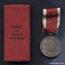 Militaria: ALEMANIA III REICH. MEDALLA DEL AUXILIO SOCIAL. MEDAILLE FÜR DEUTSCHE VOLKSPFLEGE. CON CAJA . Lote 166309302