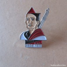 Militaria: INSIGNIA PIN GUERRA CIVIL REPUBLICA CNT . Lote 166311574