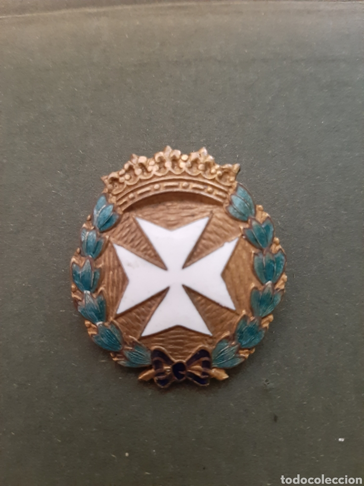 MEDALLA DAMAS AUXILIARES DE SANIDAD MILITAR, GUERRA CIVIL Y DIVISION AZUL (Militar - Medallas Españolas Originales )
