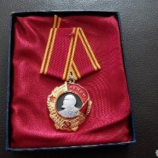 Militaria: BONITA MEDALLA RUSA EN SU ESTUCHE ORIGINAL SIN USO DE COLECCION UNIÓN SOVIÉTICA. Lote 166658560