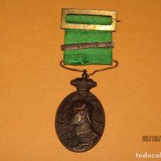Militaria: ANTIGUA MEDALLA CAMPAÑA DEL RIF - REINADO ALFONSO XIII DEL AÑO 1909 MELILLA. Lote 166887812
