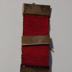 Militaria: RARA MINIATURA DE MEDALLA MASONICA INGLESA DE PLATA MACIZA DE 1919.EXTRAORDINARIO ESTADO.. Lote 166944184