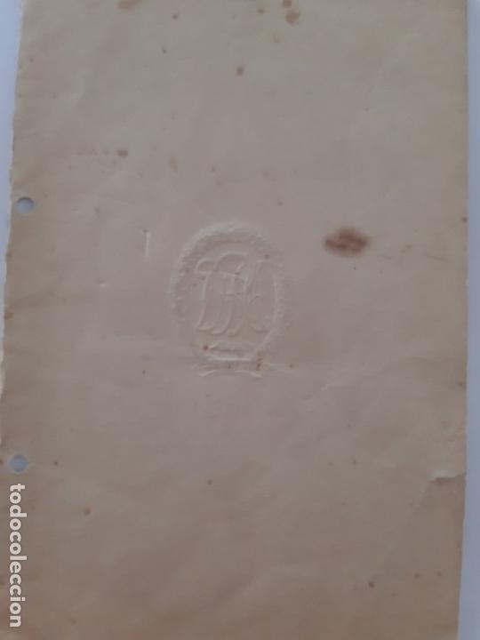 Militaria: WW2. DOCUMENTO DE CONCESIÓN, MEDALLA DRL. - Foto 2 - 167015264