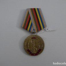 Militaria: MEDALLA RUSA DE CONMEMORACION DE LAS BRIGADAS INTERNACIONALES, ORIGINAL, URSS COMUNISTA. RUSIA.. Lote 167172592