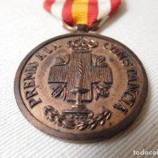 Militaria: MEDALLA PREMIO A LA CONSTANCIA DE LA CRUZ ROJA ÉPOCA ALFONSO XIII CATEGORIA BRONCE. Lote 167367000