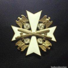 Militaria: CRUZ DE LA ORDEN DEL AGUILA ALEMANA 1937 - 2ª CLASE, CON ESPADAS. Lote 167634844