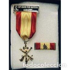 Militaria: MEDALLA DE LA LEGIÓN 100 AÑOS CON PASADOR. Lote 181978605