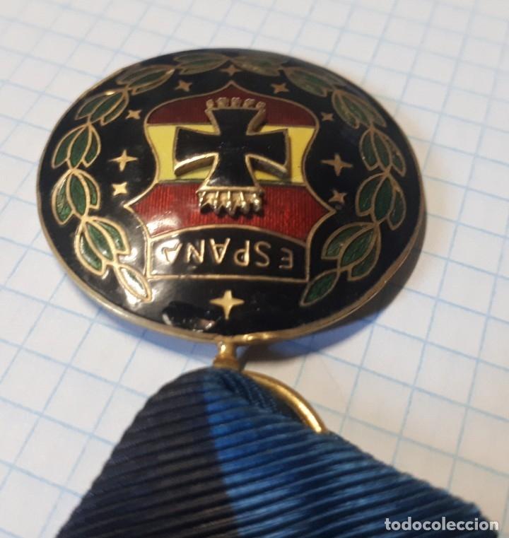 Militaria: Medalla viudas de la división azul, pasador plateado, Rusia 1941 - Foto 3 - 32329049