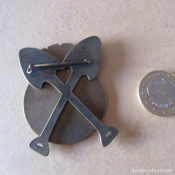 Militaria: Chapa insignia brigadas internacionales guerra civil española reproduccion - Foto 2 - 167857380