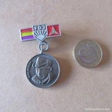 Militaria: CHAPA INSIGNIA BRIGADAS INTERNACIONALES GUERRA CIVIL ESPAÑOLA REPRODUCCION. Lote 167857876