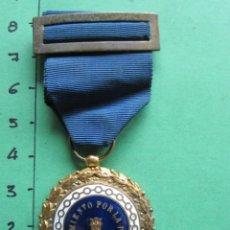 Militaria: MEDALLA DE SUFRIMIENTO POR LA PATRIA DISTINTIVO AZUL - PRISIONEROS EN ZONA REPUBLICANA GUERRA CIVIL. Lote 167955792