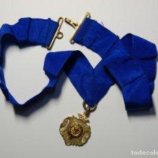 Militaria: MEDALLA MASONICA DE PLATA MACIZA DE INGLATERRA DEL AÑO 1917. Lote 167984956