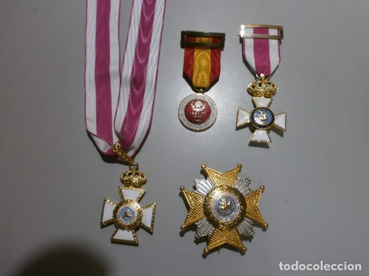 GRAN LOTE DE MEDALLAS MILITARES ESPAÑOLAS PERFECTO ESTADO ORIGINALES (Militar - Medallas Españolas Originales )